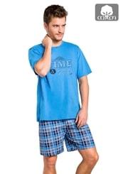 Pánské pyžamo s kraťasy Nikodem