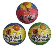 Basketbalový míč s potiskem