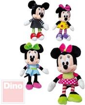 Plyš Disney Minnie 20cm IV postavička 4 druhy