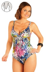 Jednodílné plavky s kosticemi. 93200