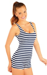 Jednodílné dámské retro plavky. 93332