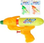 Pistole vodní dětská v sáčku 16cm se zásobníkem na vodu