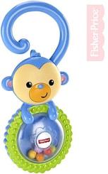 Baby chrastítko opička pro miminko plast