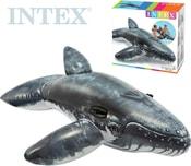 Velryba nafukovací s úchyty 201x135cm dětské vozítko do vody 57530