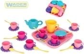 Dětská sada nádobí set 2 kuchyňský párty tác s doplňky 30ks 22040 PLAST
