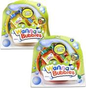 Dětský bublifuk mega bubliny set s miskou a náplní 250ml 2 barvy na kartě