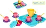 Dětská sada nádobí set kuchyňský párty tác s doplňky 17ks 22030 PLAST