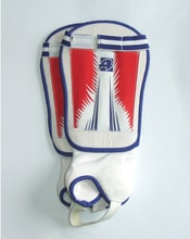 ACRA F2802-3 Fotbalové chrániče holení - velikost S