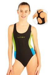 Dívčí jednodílné sportovní plavky