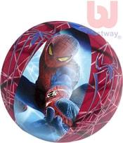 Míč dětský nafukovací 51cm Spiderman plážový do vody 98002