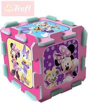 PUZZLE Pěnové Disney Minnie 32x32cm soft měkké bloky set 8ks