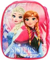 Batoh dětský Frozen (Ledové Království) na zip s poutkem s popruhy na záda