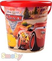 SMOBY Kyblík na písek s obrázkem 16cm Cars (Auta) plast