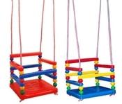 Houpačka dětská plastová barevná se zábranou