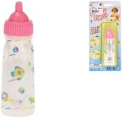 Láhev kouzelná kojenecká 12cm pro panenku miminko na kartě