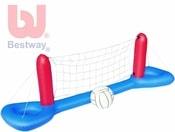 Volejbalový plovoucí nafukovací set s míčem na vodu