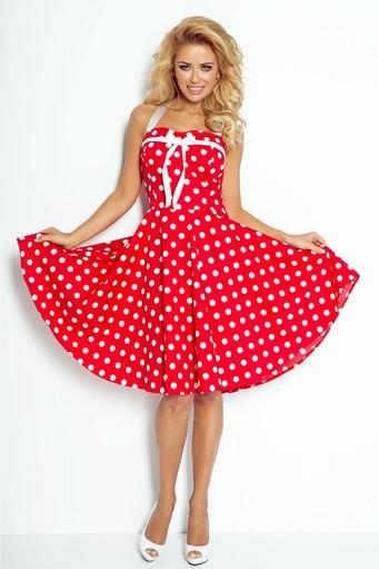 94732bd83389 Dámské volánové šaty hs-sa490wh