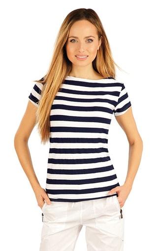 Elegantní triko s krátkým rukávem k1808wh  3de9da0cef