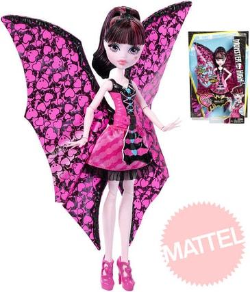 73e138f0f69 Monster High Netopýrka Draculaura měnící se panenka
