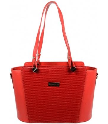 9c39f013b4 Růžovo-lososová elegantní dámská kabelka na rameno S728