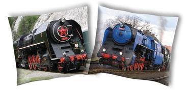 Povlak na polštářek Parní lokomotiva 2 40 40 00bc978733
