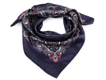 Šifonový šátek 85x85 cm Flower (1 ks)  95ce9806dd