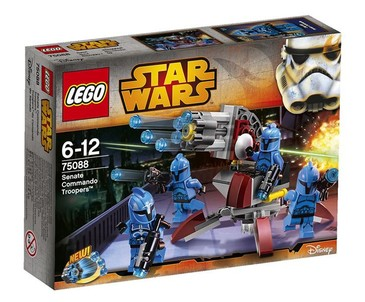 STAR WARS Senate Commando Troopers 75088