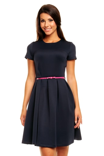 Elegantní  šaty KM146-1