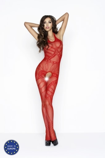 Bodystocking BS037 red