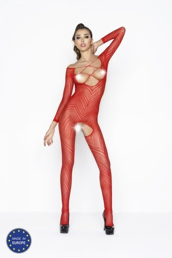 Bodystocking BS040 red