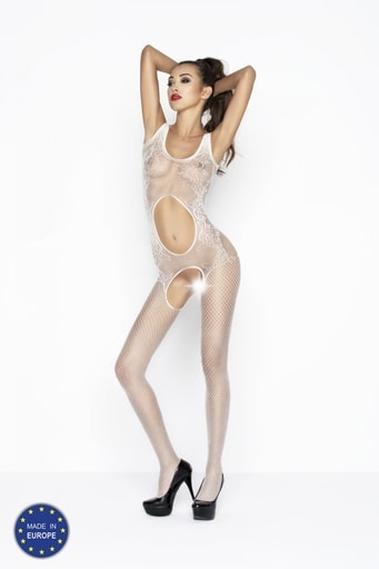 Bodystocking BS044 white