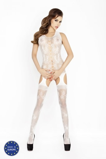 Bodystocking BS012 white